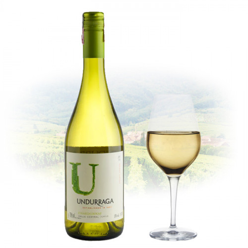 Viña Undurraga Chardonnay 'U'   Chilean White Wine