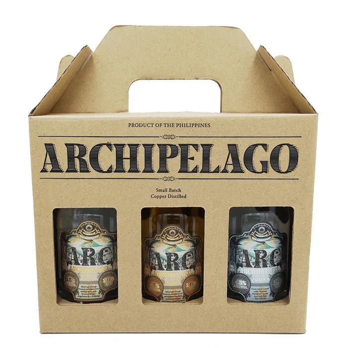 Arc Archipelago 3x3200ml Gift Pack Filipino Gin