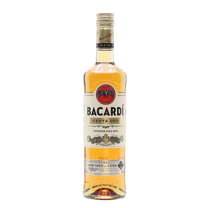 Bacardi Superior Gold Carta Oro 75cl