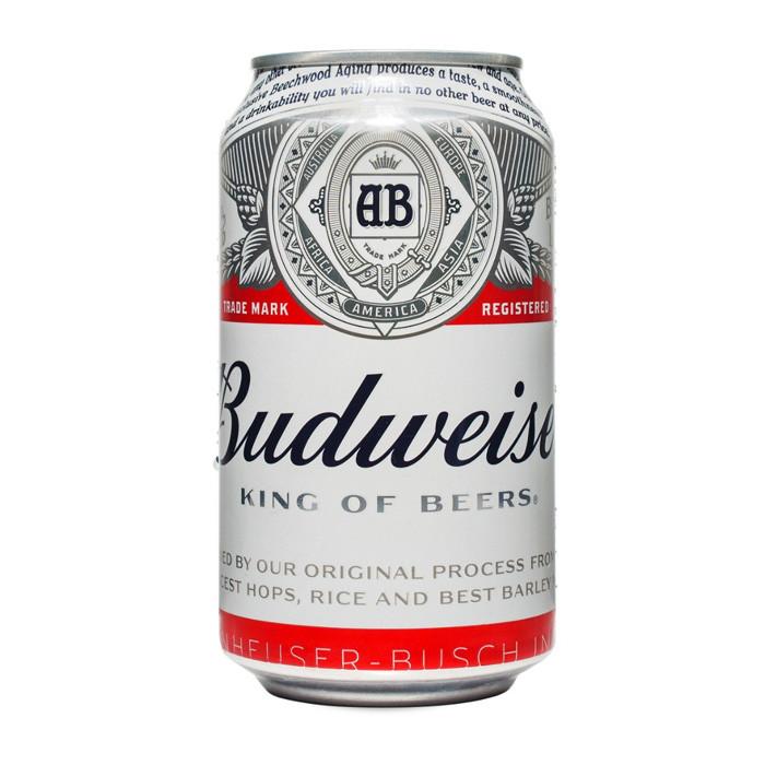 Budweiser beer 355ml can american beer - Budweiser beer pictures ...