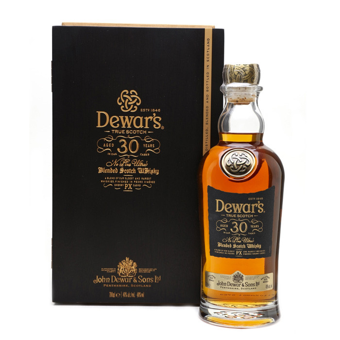 Dewar's 30 Years Ultra Scotch