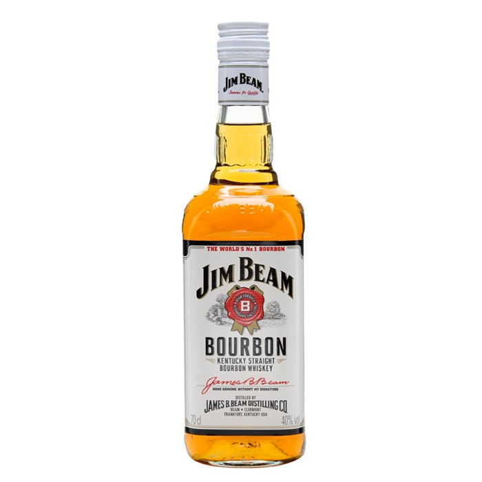 Jim Beam White Label Bourbon 70cl