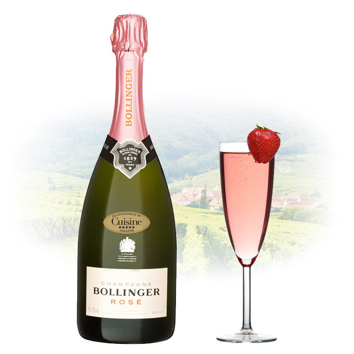 Bollinger ros brut ros champagne for What is rose champagne