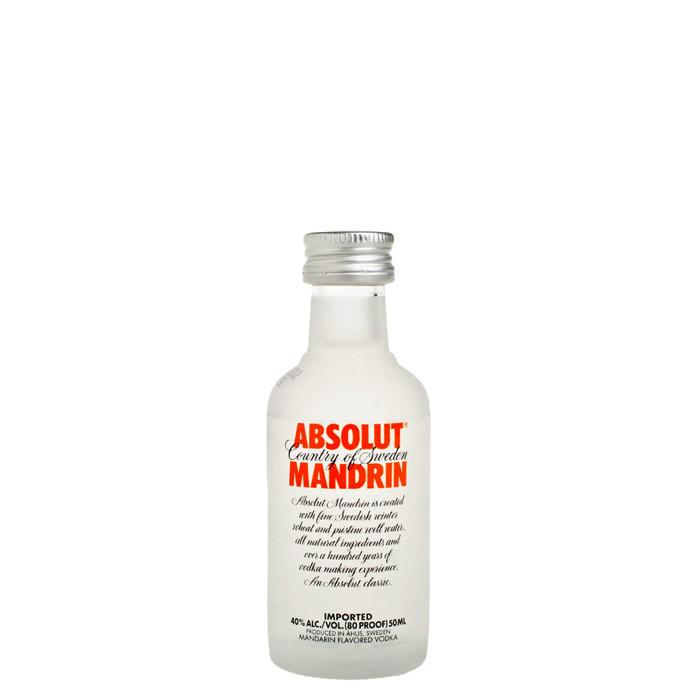 Absolut Mandrin 5cl Miniature | Swedish Vodka