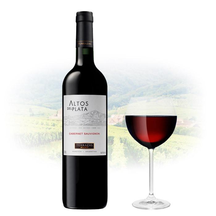 Terrazas De Los Andes Altos Del Plata Cabernet Sauvignon Argentina Wine