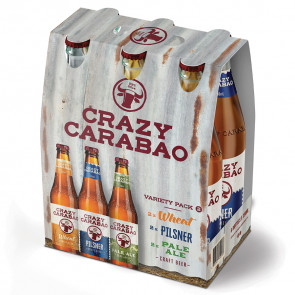 Crazy Carabao - Variety Pack 2 - 6 x 330ml (Bottle) | Philippines Beer