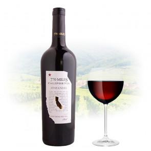 770 Miles Zinfandel   Californian Red Wine