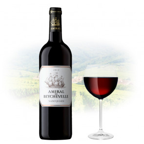Château Beychevelle - Amiral de Beychevelle | French Red Wine