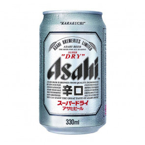 Asahi Beer - 330ml (Can) | Japanese Beer