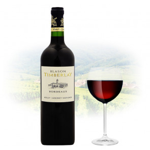 Blason Timberlay - Bordeaux - Merlot & Cabernet Sauvignon | French Red Wine