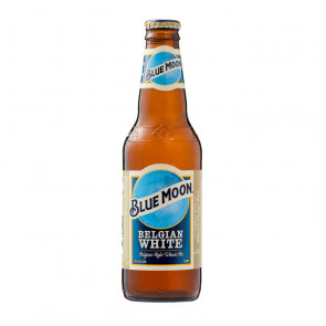 Blue Moon Belgian White Ale - 330ml (Bottle) | American Beer