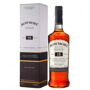 Bowmore 15 Year Old 1L Scotch Whisky   Philippines Manila Whisky
