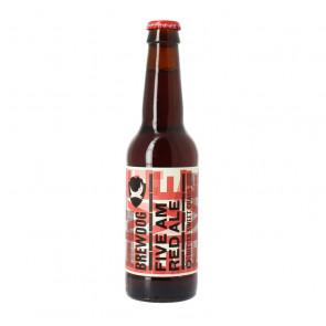 Brewdog Five AM Red Ale - 330ml (Bottle) | Scottish Beer