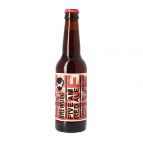 Brewdog Five AM Red Ale - 330ml (Bottle) | Scottish Beer
