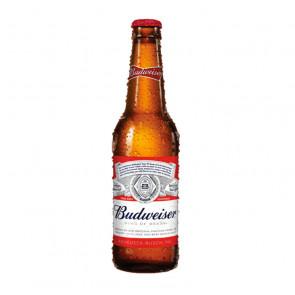 Budweiser Beer - 330ml (Bottle)   American Beer