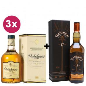 Diageo Bundle | 1 Teaninich 17 Year Old + 3 Dalwhinnie 15 Year Old
