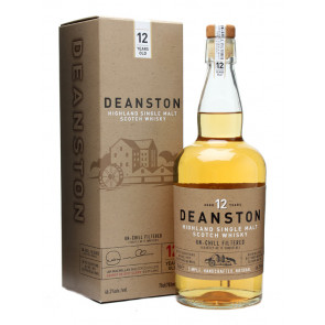 Deanston 12 Years Old Un-chill Filtered | Single Malt Scotch Whisky | Philippines Manila Whisky