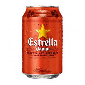 Estrella Damm - 330ml (Can) | Spanish Beer