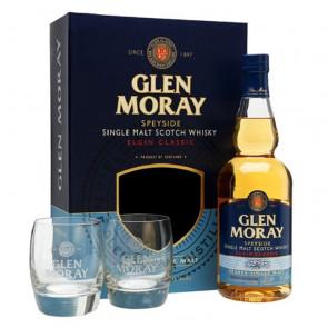 Glen Moray - Classic Peated Gift Pack | Single Malt Scotch Whisky