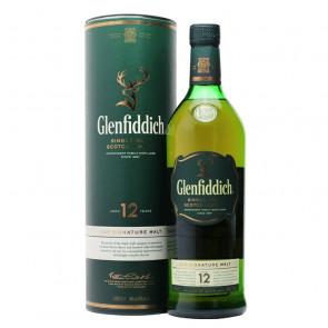 Glenfiddich - 12 Year Old - 1L   Single Malt Scotch Whisky