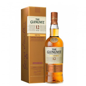 The Glenlivet 12 Year Old - First Fill Exclusive Edition | Single Malt Scotch Whisky