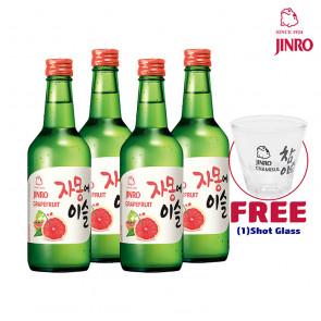 Jinro Chamisul - Grapefruit | Korean Soju