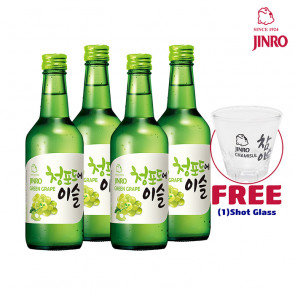 Jinro Chamisul - Green Grape | Korean Soju