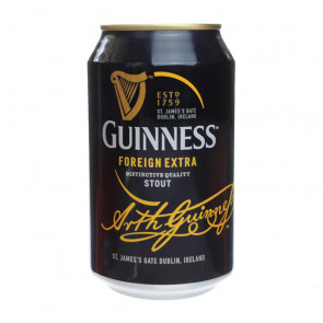Guinness Foreign Extra Stout - 320ml (Can)   Irish Beer