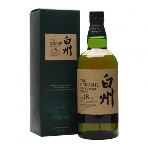 Suntory The Hakushu 18 Year Old Single Malt | Manila Philippines Whisky