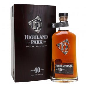 Highland Park 40 Year Old | Scotch Whisky | Philippines Manila Whisky
