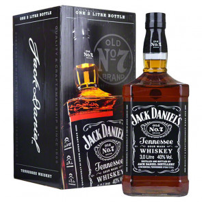 Jack Daniel's Old No.7 Whiskey 3L | American Whiskey