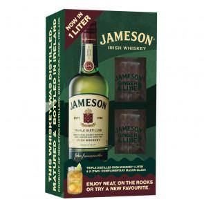 Jameson Triple Distilled - 1L - Gift Pack | Blended Irish Whiskey