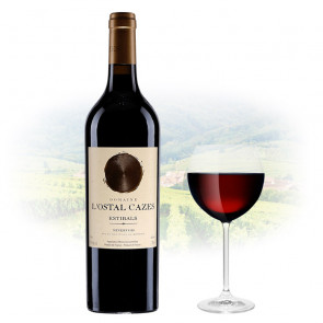 Domaine L'Ostal Cazes - Estibals - Minervois   French Red Wine
