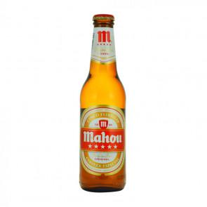Mahou Cinco Estrellas - 330ml (Bottle) | Spanish Beer