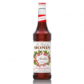 Le Sirop Monin - Cranberry | Fruit Syrup