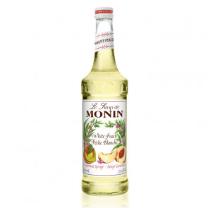 Le Sirop de Monin - White Peach | Fruit Syrup