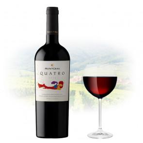 MontGras Quatro Reserva 2016   Philippines Manila Wine