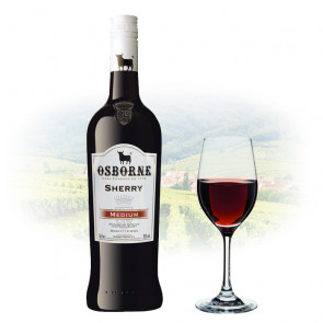Osborne Medium Sherry - 1L | Spanish Fortified Wine