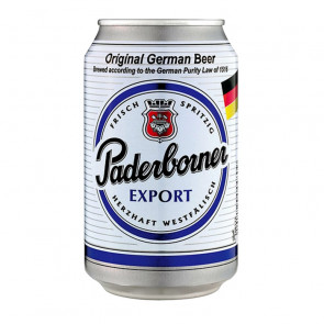 Paderborner Export - 330ml (Can) | German Beer