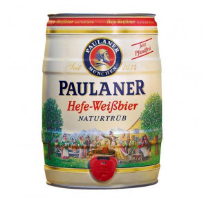 Paulaner Hefe (White) - 5L (Keg) | German Beer