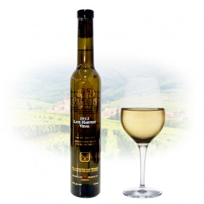 Pillitteri Estates VQA Sweet White Wine Late Harvest Vidal - 375ml | Canadian Sweet White Wine