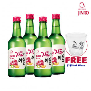 Jinro Chamisul - Plum | Korean Soju