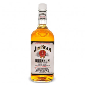Jim Beam White Label Bourbon 1L | American Whiskey