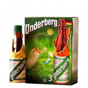 Underberg Herbal Bitters 6cl (Pack of 3) | German Liqueur