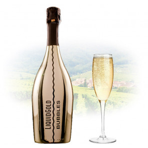 Liquid Gold Prosecco Elegant Bubbles GOLD | Sparkling Wine Philippines