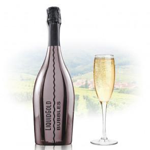 Liquid Gold Prosecco Elegant Bubbles SILVER | Sparkling Wine