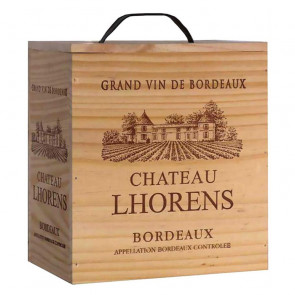 Chateau Lhorens Bordeaux in a Wooden Box | Manila Wine