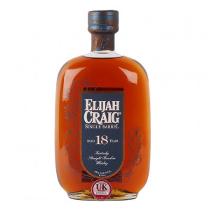 Elijah Craig 18 Year Old Single Barrel Bourbon 75cl | Manila Philippines Whiskey