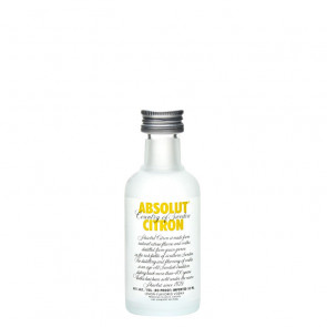 Absolut - Citron - 50ml Miniature | Swedish Vodka