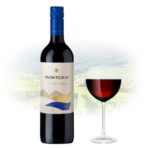 MontGras Estate Merlot 2016 | Manila Wine Philippines